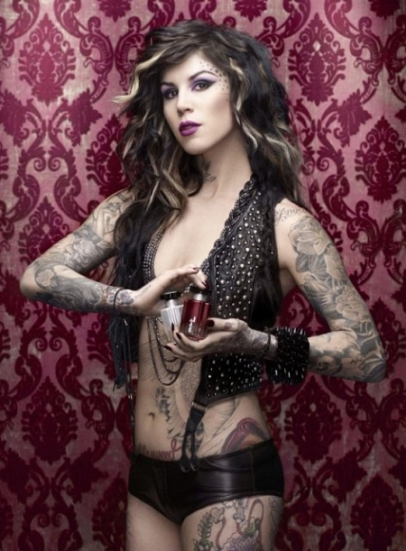 Recently Kat Von D did an ad campaign for Sephora and her tattoos were gone