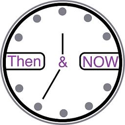 Now and then logo