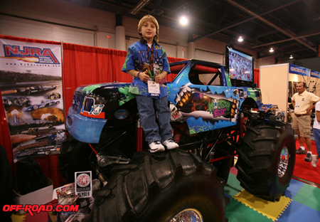 Once Billed As The Youngest Monster Truck Driver In World Until His Little Brother Took Title Kid KJ Turned 9 Years Old Yesterday