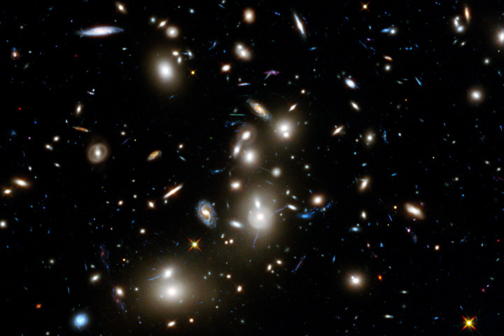 Space Distant Galaxies